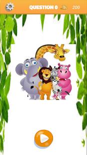 Animal puzzle art - náhled