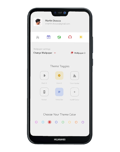Screenshot for TREND UI for KLWP in United States Play Store