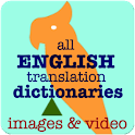 Translator Dictionary & Images icon