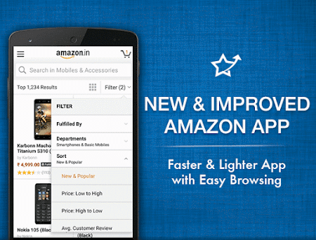Amazon India Shopping 6.1.4.300 screenshot 249709