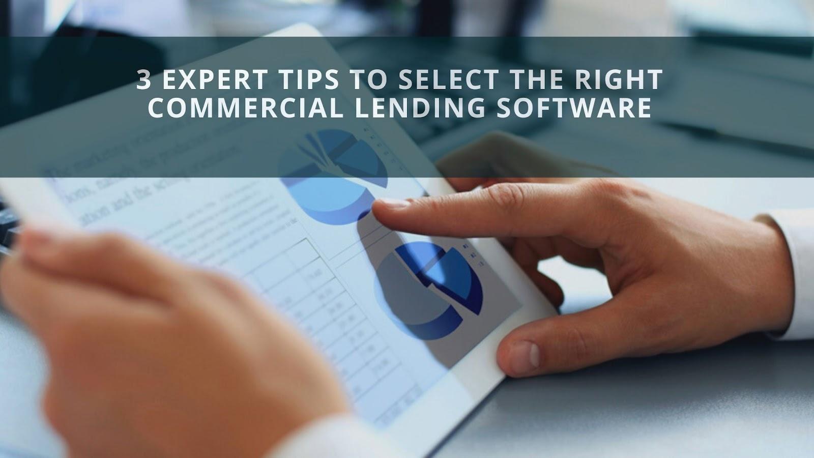 commercial lending software