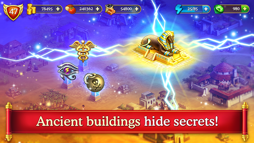 Cradle of Empires Match-3 Game apkpoly screenshots 4