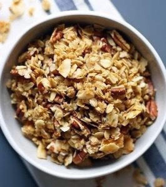Coconut Pecan Granola Recipe
