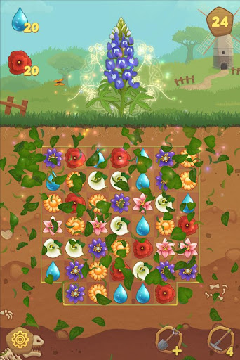 Flower Book: Match-3 Puzzle Game 1.76 screenshots 4