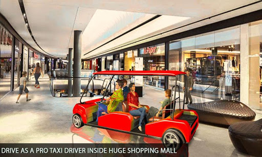 Shopping Mall Radio Taxi: Car Driving Taxi Games apkslow screenshots 4