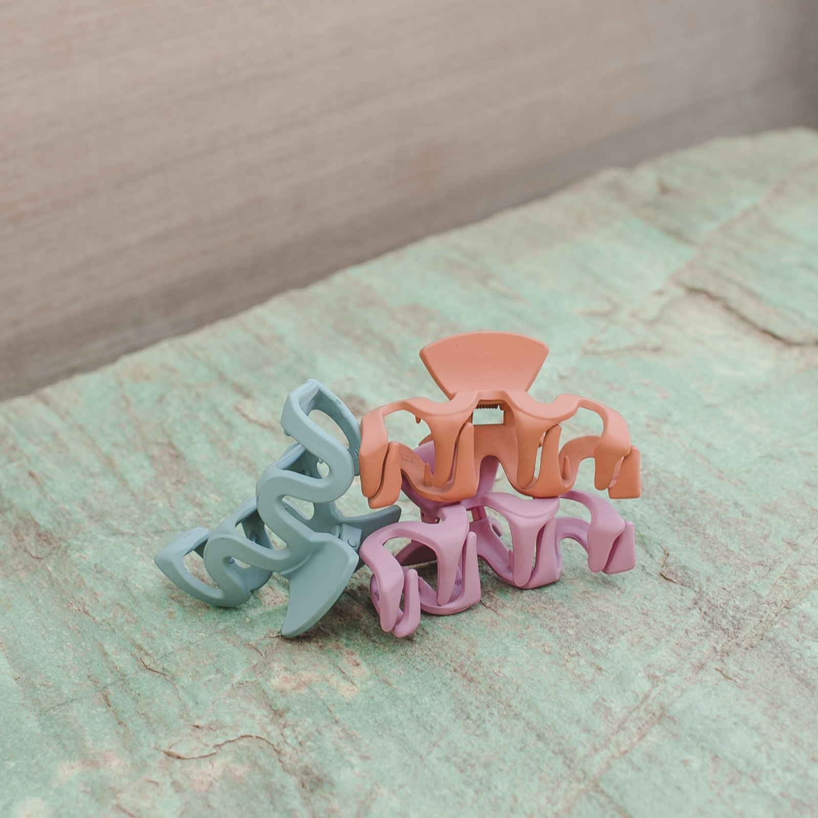 Wholesale accessories like 90's hair clips are currently rising in popularity.