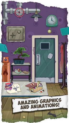 Fun Escape Room Puzzles u2013 Can You Escape 100 Doors apktram screenshots 13