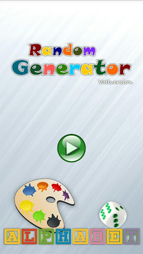 Random Generator Vollversion screenshot 1