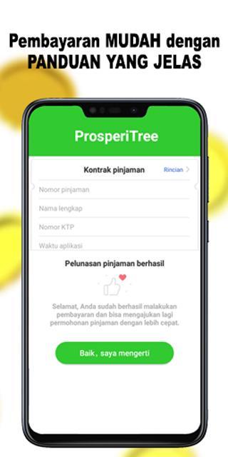 Prosperitree Pinjaman Uang Online Bunga Rendah Android 앱 Appagg
