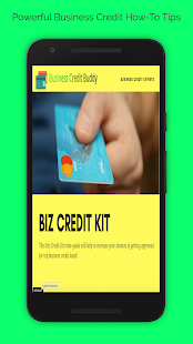 Business Credit Buddy App- screenshot thumbnail