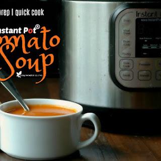 Instant Pot Tomato Soup.