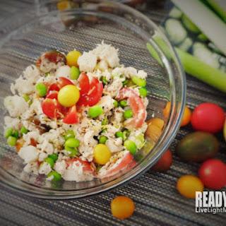 Tuna, Jicama and Edamame Salad