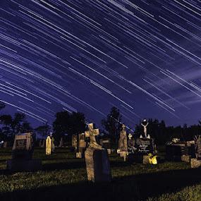 by Mario Guay - City,  Street & Park  Cemeteries