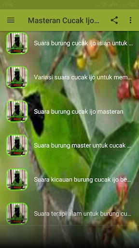 Download Suara Cucak Ijo Master : download, suara, cucak, master, ✓Download, Masteran, Cucak, Gacor, Terbaru, Offline, Android, [Updated], (2021)