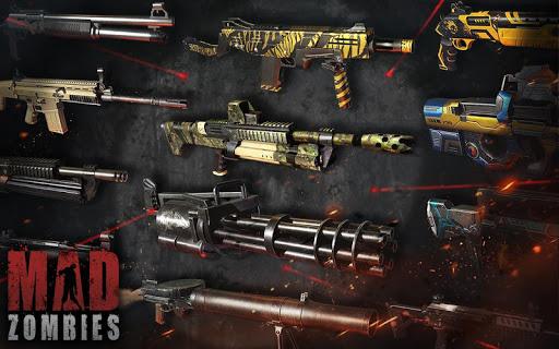 MAD ZOMBIES : Jeux de Zombie APK MOD – ressources Illimitées (Astuce) screenshots hack proof 1