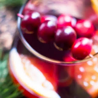 Cranberry Orange Mulled Wine - Warm and Aromatic Holiday Drink.