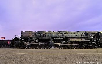 Photo: Union Pacific 4014 at Pomona Fairplex