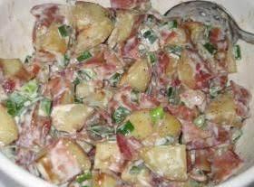 Roasted Three Potato Salad Recipe