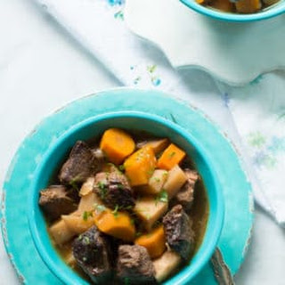 Turnip and Carrot Slow Cooker Beef Stew Recipe