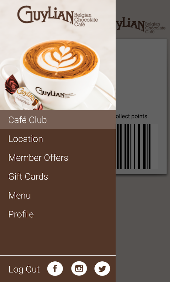 Guylian Café Club- screenshot