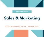 Free Sales & Marketing Workshop for Start-Up Businesses : Rustenburg Chamber of Commerce