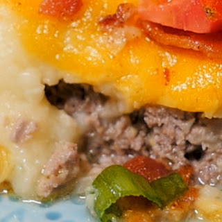Loaded Up Beef Pie