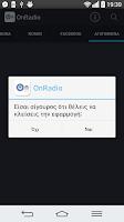 Screenshot of OnRadio