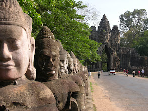 Photo: Entrance to the Temples of Angkor