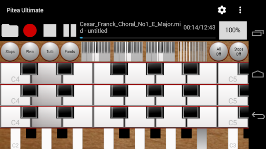 Pitea Ultimate - Church Organ screenshot 1