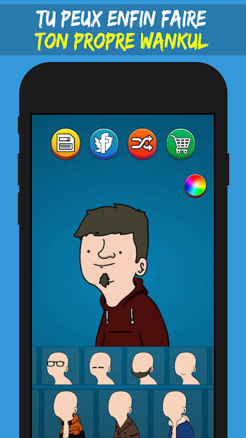 Wankul Creator Android App Screenshot