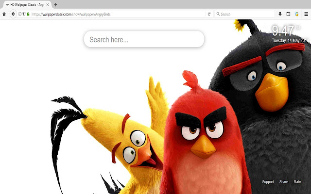 Angry Birds Wallpapers HD Themes New
