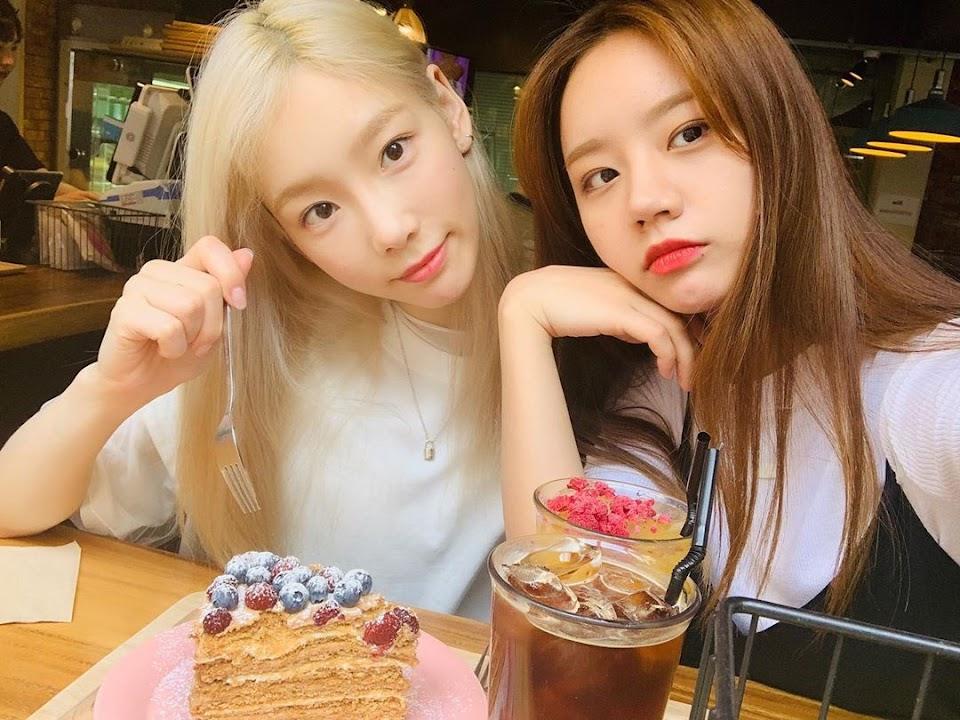 taeyeon hyeri friendship