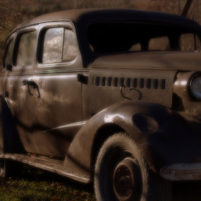Old car by Patrick Provencher - Transportation Automobiles ( car )
