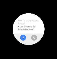 Screenshot of Google Translate