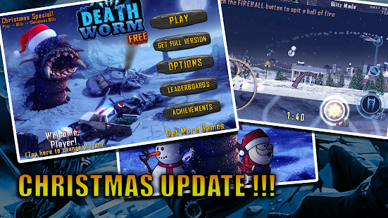Death Worm Free- screenshot thumbnail