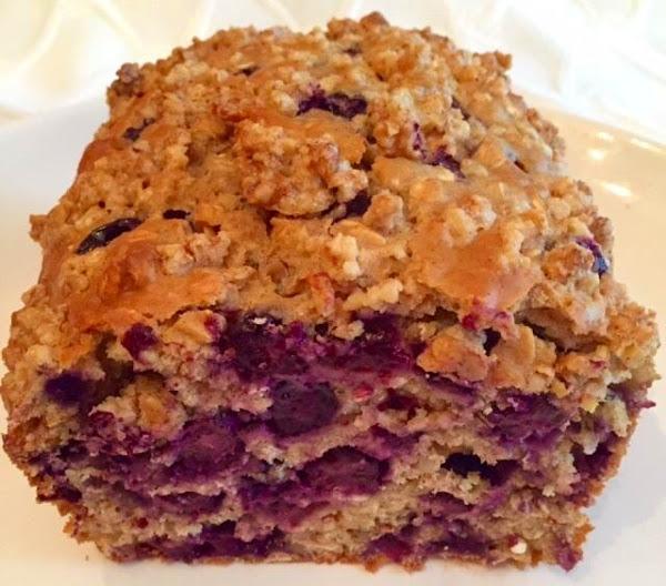 Healthier Blueberry Oat Bread By Noreen Recipe