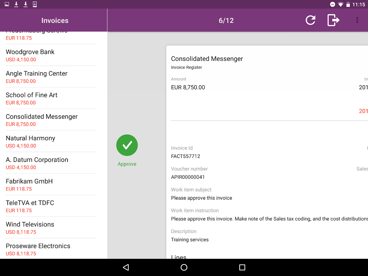Simple Invoices An Open Source Web Based Invoicing System Axtension174; Invoice Processing Android Apps On Google Play