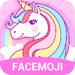 Cuteness Rainbow Unicorn Emoji Keyboard APK