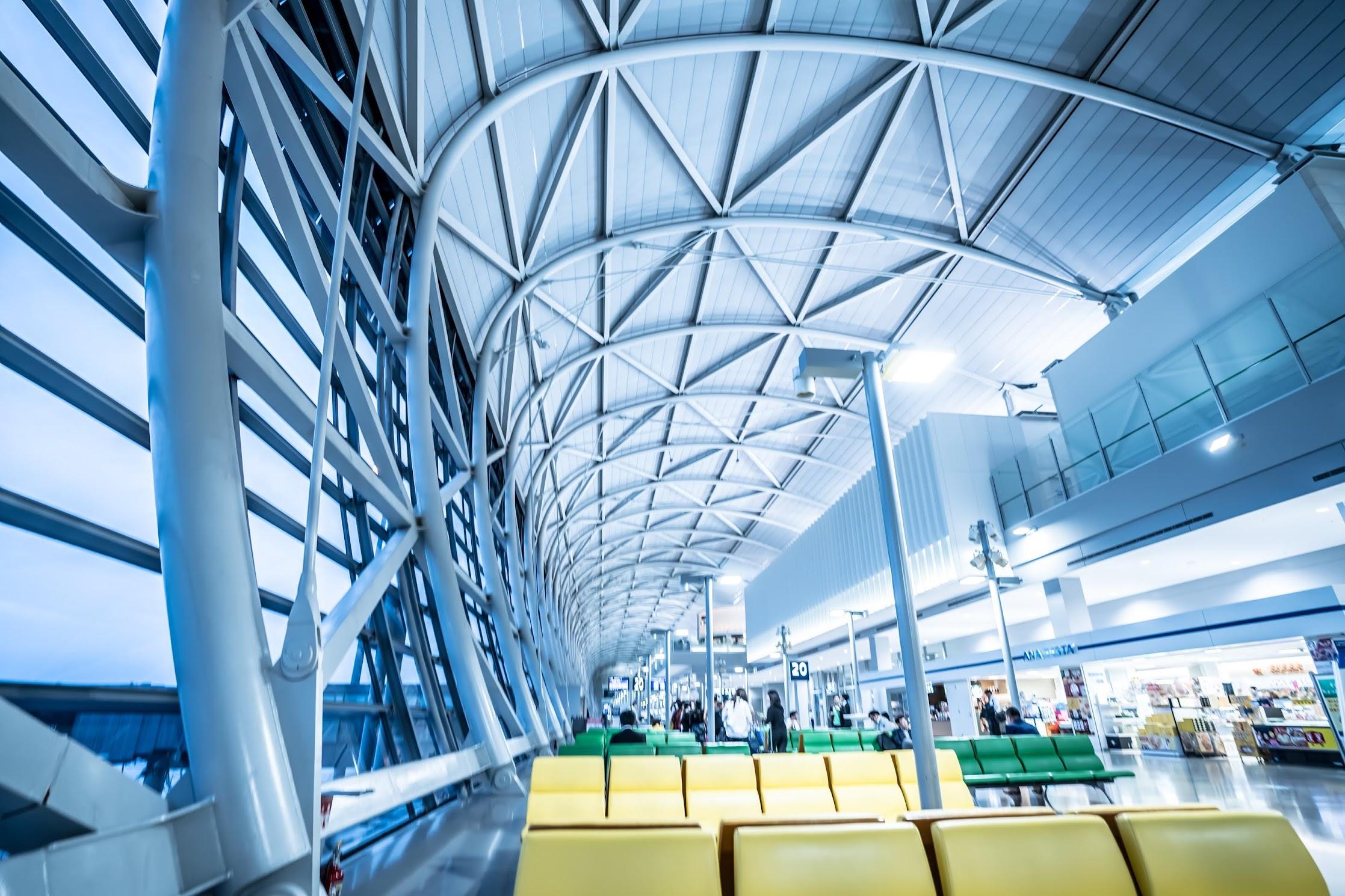 Kansai International Airport departure gate