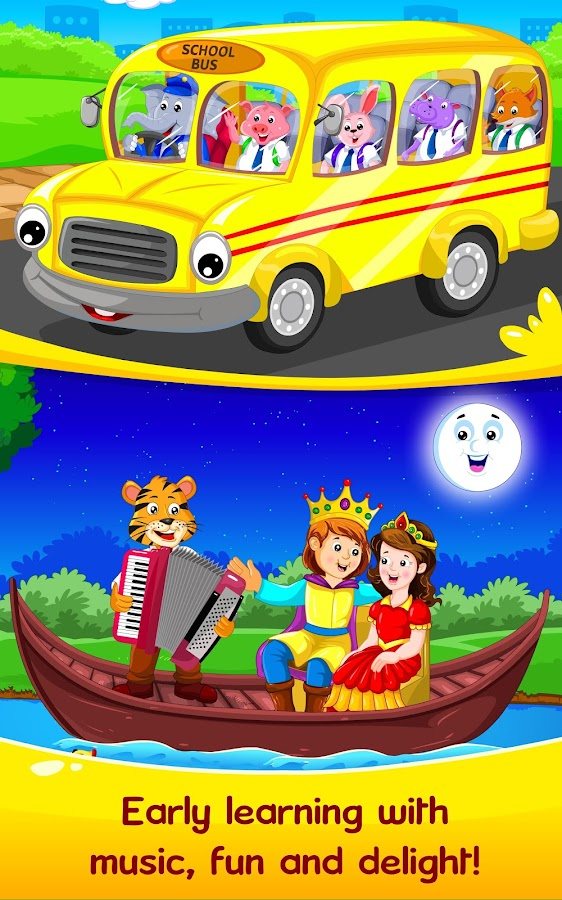 Nursery Rhymes & Kids Games- screenshot
