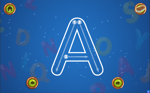Kids ABC Tracing and Alphabet Writing Aplicaciones para Android screenshot