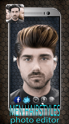 Men Hairstyles Photo Editor - screenshot