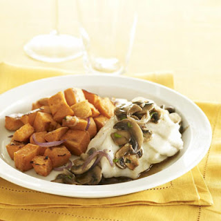 Roasted Cod and Mushroom Ragout