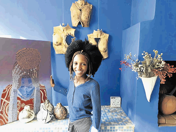 Mdantsane ceramic artist and model Siphenokuhle Runqu is an artist, anti-rape activist and entrepreneur.