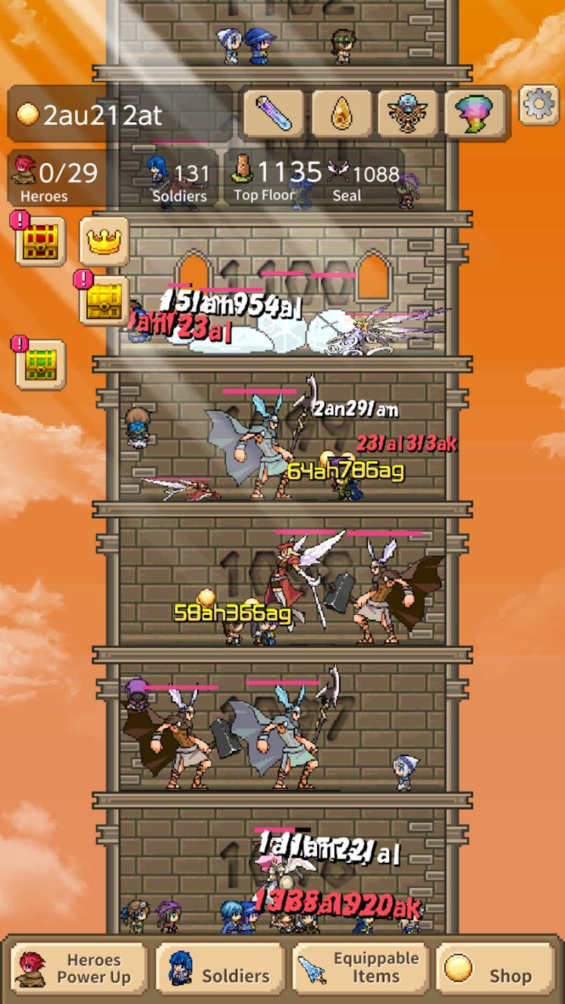 Tower of Hero Screenshot 2