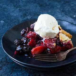 Heavenly Mixed Berry Galette Recipe