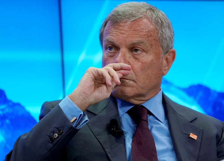 WPP CEO Martin Sorrell. Picture: REUTERS