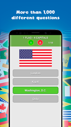 Countries, capitals and flags of the world Apk 2