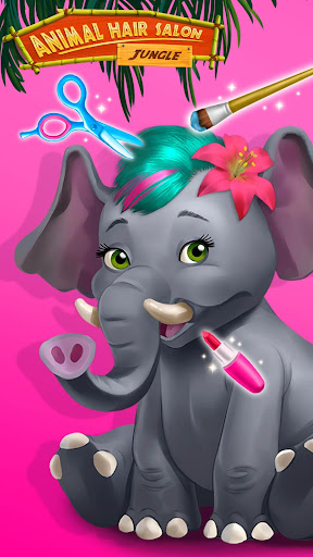 Jungle Animal Hair Salon - Styling Game for Kids android2mod screenshots 7