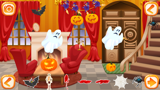 【免費休閒App】Halloween House Decorating-APP點子